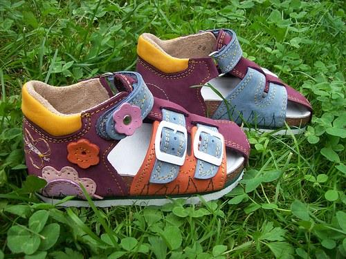 Dětské sandálky Přes špičku (vel. 31-35)