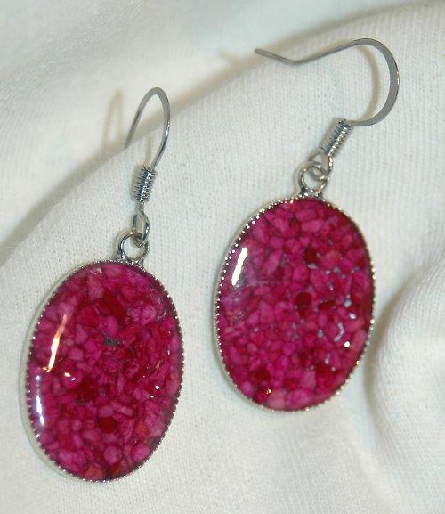 fialové kamínky