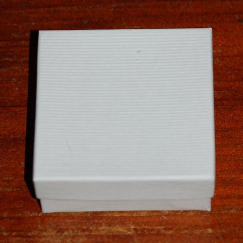 Dárková krabička bílá