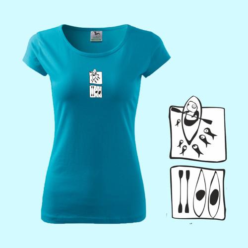 Kajak   (dámské tričko M)