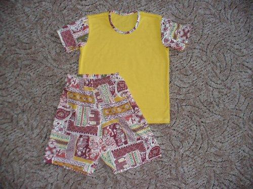 Letní pyžamo  vel. 116