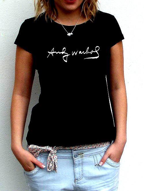 Dámské tričko,,Andy Warhol,,