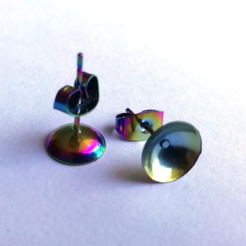 Duhové puzety s pohárkem 8 mm