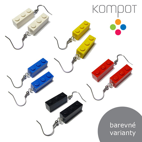LEGO KOSTKY 3 :: více barev (chirurgická ocel)