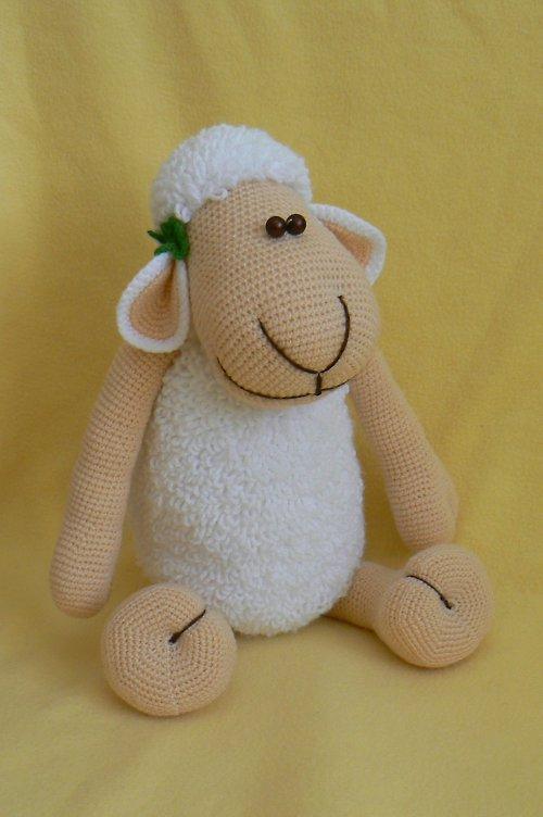 Návod na velkou háčkovanou ovečku