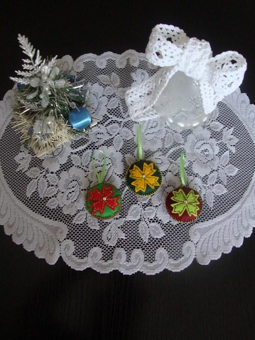 Vánoční ozdoby  - květ
