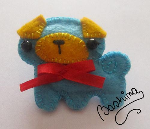 Modrý mops:)