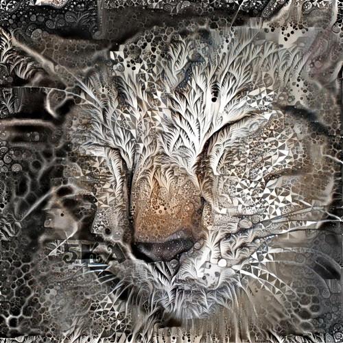 Crystalizace - autorská fotografie s efekty