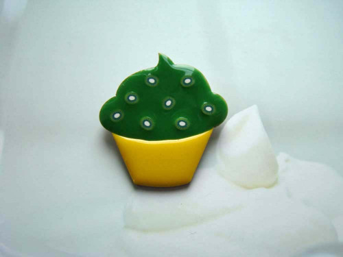 Cupcake kiwi - brož