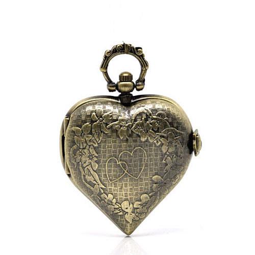 Antické hodinky srdce, bez řetízku Typ15