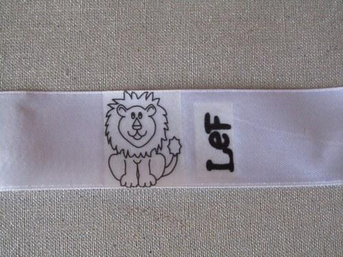 Textilní etikety na přání