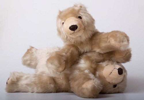 Medvědice Bláža - autorská hračka