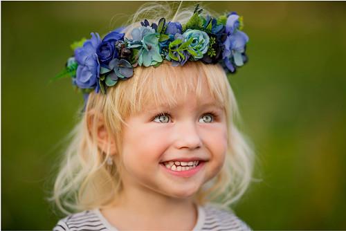 Věneček do vlasů - Modré z nebe   Zboží prodejce Holečkovic  610834cf1b
