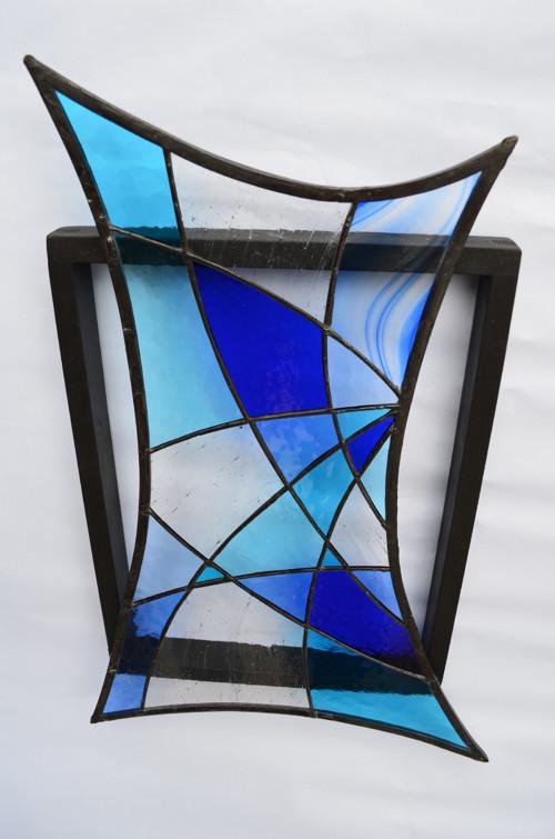 z cyklu Pocta modré barvě III