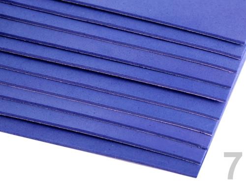 Samolepící pěnová guma Moosgummi 20x30cm - modrá
