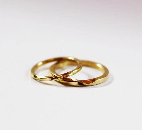 Nekonečné snubní prsteny - (zlato 585/1000)