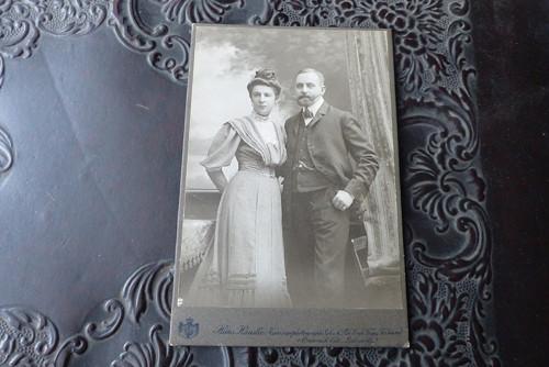 Dokonalý pár... kabinetní fotografie