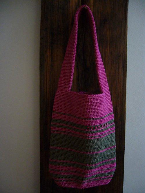 Háčkovaná kabelka