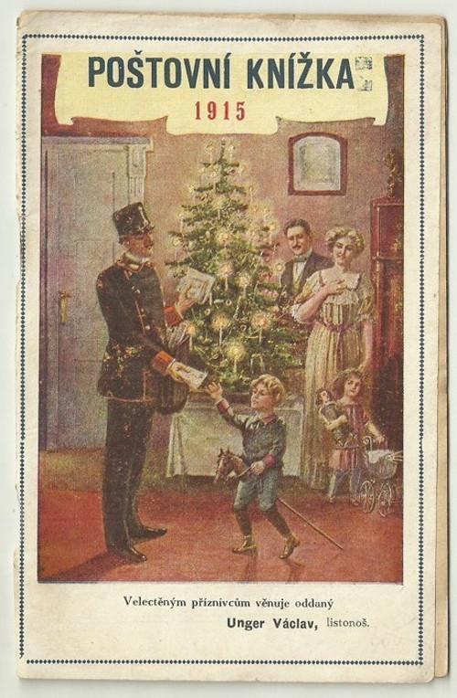 Poštovní knížka 1915