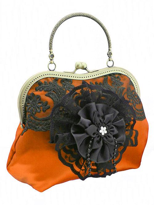 Dámská společenská kabelka červená   11552