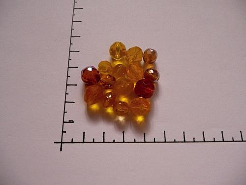 Broušené perle