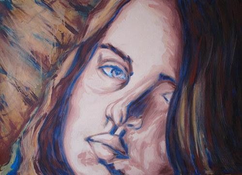 Slečna zemitá... portrét.