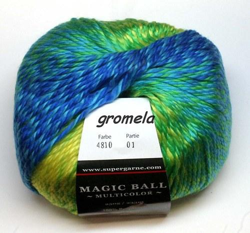 Magic Ball 4810 (žluto-zeleno-tyrkys)