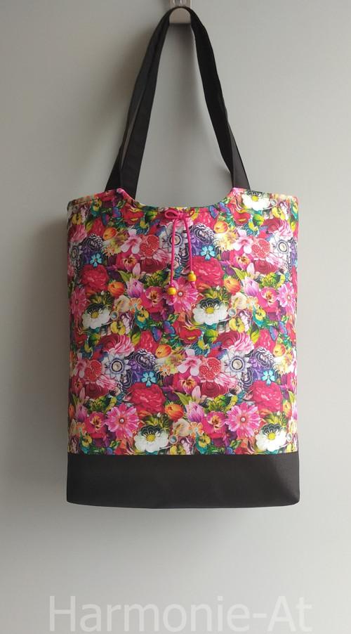 kabela, taška - květena