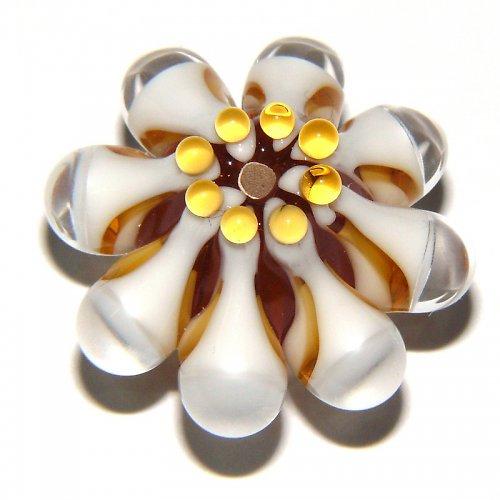 Vinutá perle - EXKLUZIV - topas světlý