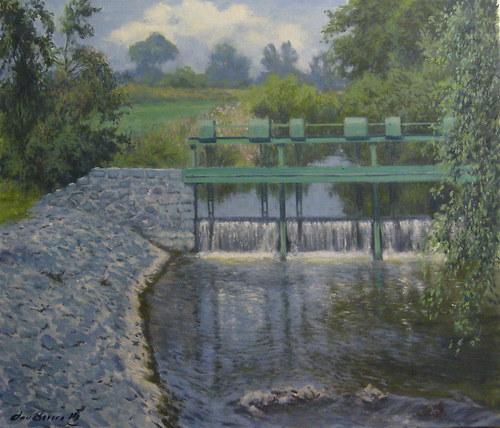 Jan Severa - Splav na Farském potoce