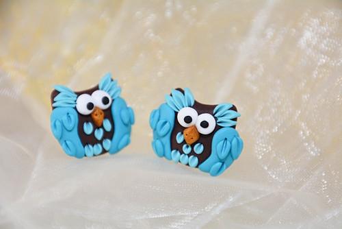 Peckovní modré sovičky