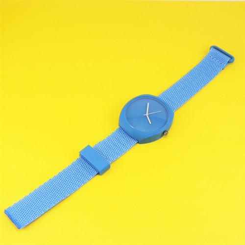 Designové hodinky duha blue