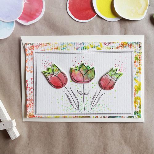 Pohled tulipánkový