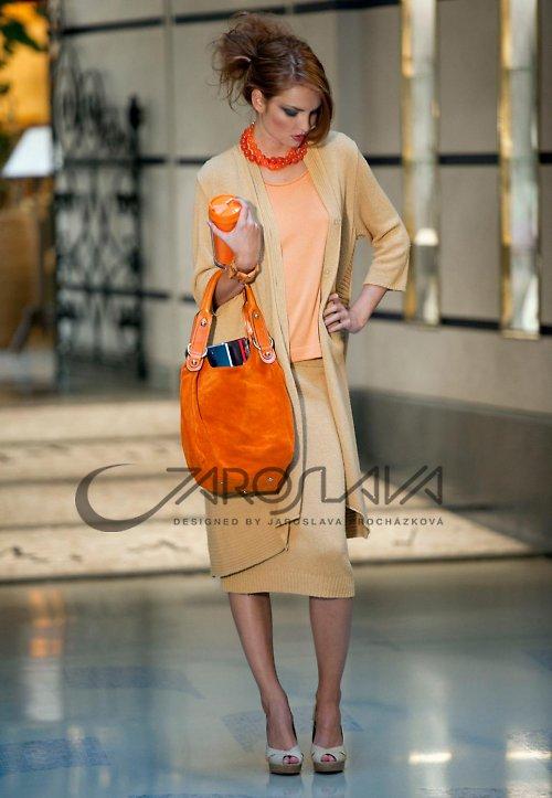 oranžový top 250b - SLEVA!!!
