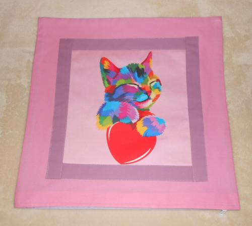 Koťátko v růžové