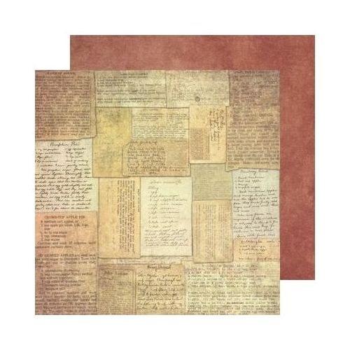 68. Oboustranný papír na scrapbooking 30,5 x 30,5