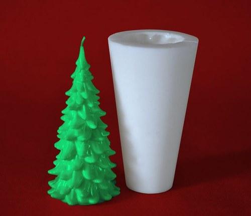Forma na svíčky Stromeček klasik - výška 12,5cm