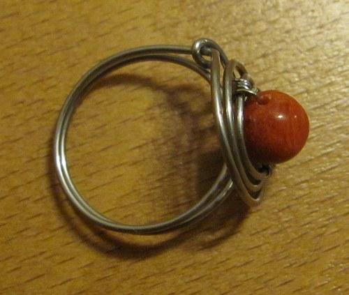 Červená planeta - prstýnek