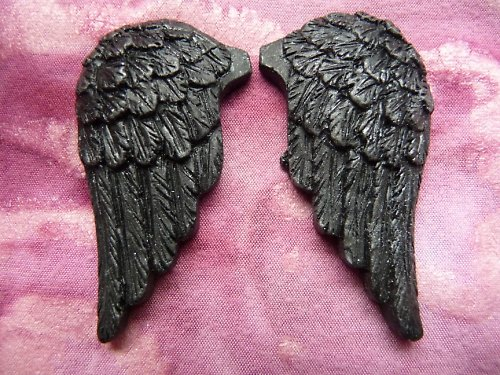 Andělská křídla antracit