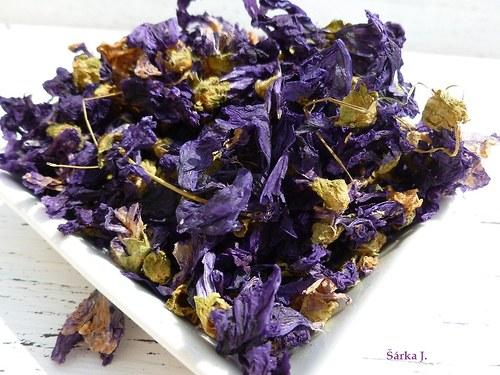 Sléz maurský - sušený květ