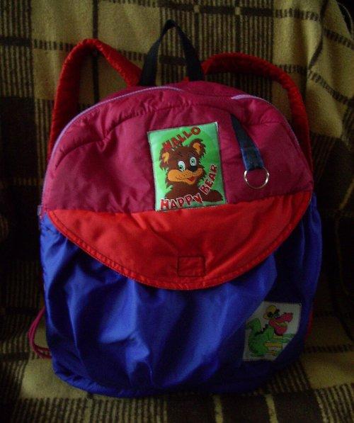 Šitý batoh pro holčičku +malý dárek-sleva