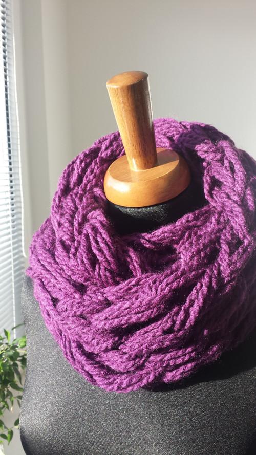 Růžový pletena svetla