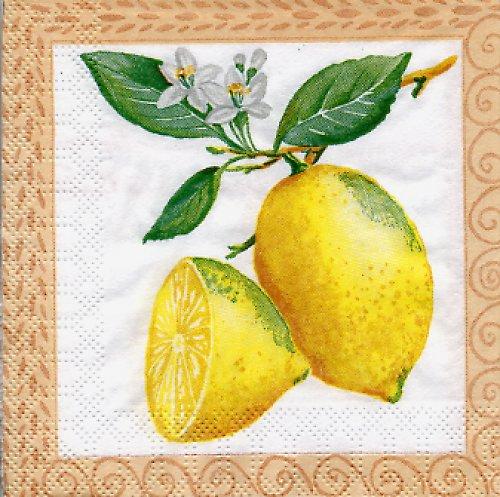 Ubrousek s citróny
