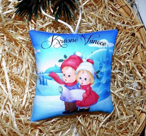 Malý polštářek s vánoční vůní