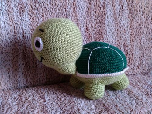 Zelená želvička