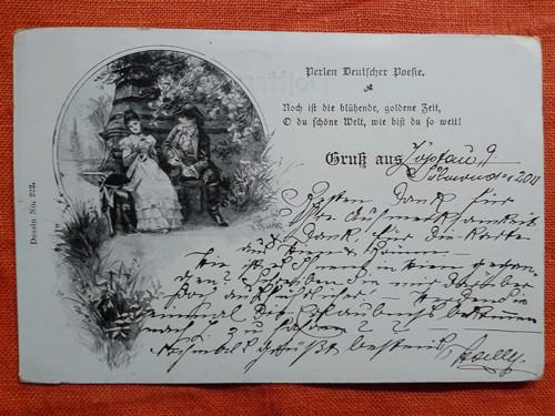 Vyznání  lásky r.1898