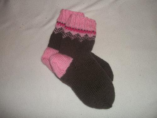 Dětské pletené ponožky