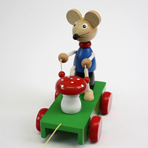 Tahací myška - retro