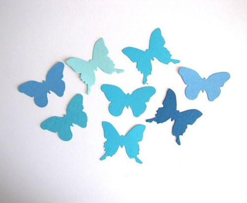 Motýlci - 8 ks