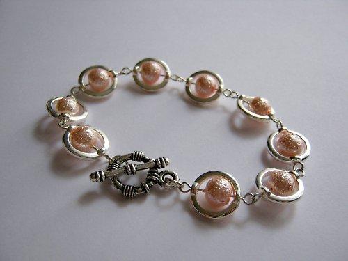 Tender pink III. náramek